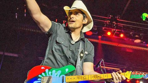 Brad Paisley Thrills Fans With History-Making Announcement | Country Music Videos