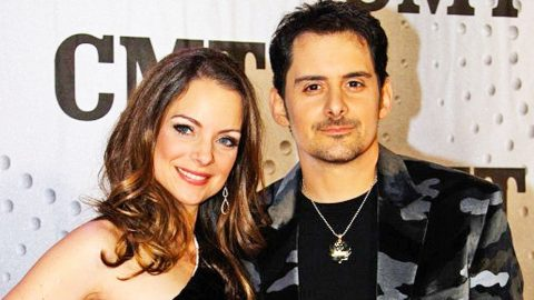 Brad Paisley's Wife, Kimberly, Tells The Adorable Story Of How They Met | Country Music Videos