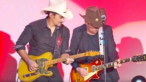 Brad Paisley & Michael J. Fox's 'Johnny B. Goode' Jam Session Is Worth Watching Again & Again   Country Music Videos