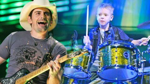 Wow! This 6-Year-Old Drummer Is SO Talented, He Will Blow Y'all Away! (VIDEO) | Country Music Videos