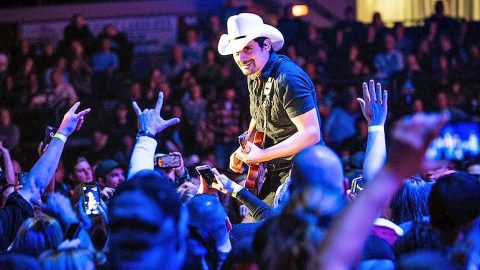 Brad Paisley Helps Concertgoer With Romantic Surprise Proposal During 'She's Everything' | Country Music Videos