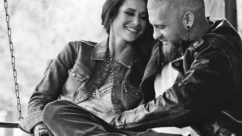 Watch The Rough & Rowdy Brantley Gilbert Show His Softer Side With Pregnant Wife | Country Music Videos