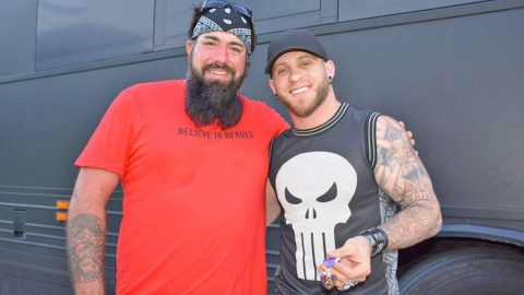 Brantley Gilbert Repays The Veteran Who Gave Away His Purple Heart With A Once In A Lifetime Gift! | Country Music Videos