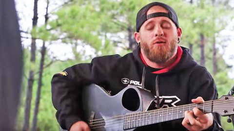 Brantley Gilbert Delivers Intimate Performance For Veterans With 'One Hell Of An Amen' | Country Music Videos