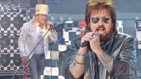 Billy Ray Cyrus And Cheap Trick Bring The House Down With Rockin' CMT Awards Performance | Country Music Videos
