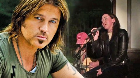 Proud Papa Alert! Billy Ray Cyrus Joins Youngest Daughter As She Sings One Of His Biggest Hits | Country Music Videos