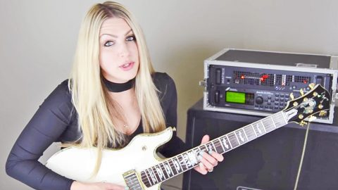 Let This Lady Teach Y'all How To Play 'Call Me The Breeze' Like A True Southern Rock Star | Country Music Videos