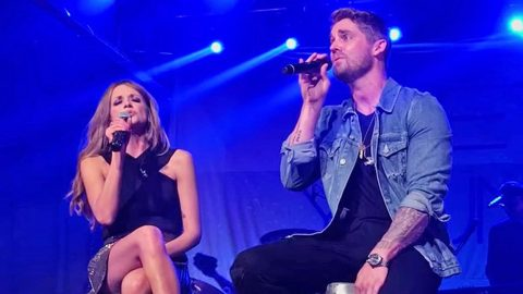 Two Of Country's Brightest Stars Will Have You Brushing Away Tears With 'Whiskey Lullaby' | Country Music Videos