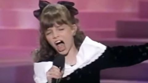 10-Year-Old Britney Spears Stuns Audience With The Judds' 'Love Can Build A Bridge' | Country Music Videos