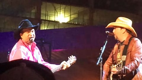 Garth Brooks & Jason Aldean Join Forces To Slay Epic Duet Of 'Much Too Young' | Country Music Videos