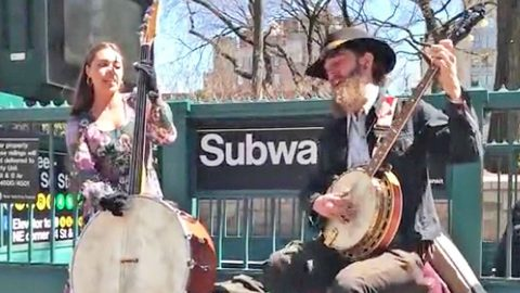 Married Couple Will Blow You Away With Toe Tappin' Bob Dylan Cover | Country Music Videos