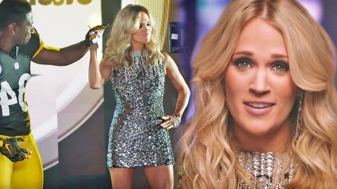 Behind The Scenes Look at Carrie Underwood's New 'Sunday Night Football' Opening Video | Country Music Videos