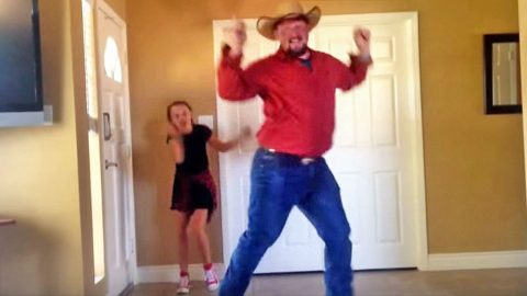 Country Dad & Daughter Choreograph Epic Dance Routine That Will Blow You Away | Country Music Videos