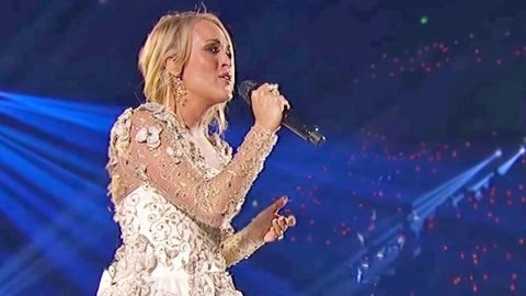 CMA Finally Debuts Official Video Of Carrie Underwood's Tearful Tribute To Vegas Victims   Country Music Videos
