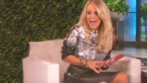 Carrie Underwood Gets Scared By WHAT?! This Is Hilarious!   Country Music Videos