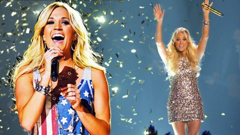 Ten Years Of Carrie Underwood's Number One Hits, In One Stunning Video | Country Music Videos
