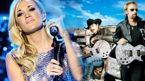 """Carrie Underwood Covers Brooks & Dunn Song """"Neon Moon"""" (VIDEO) 