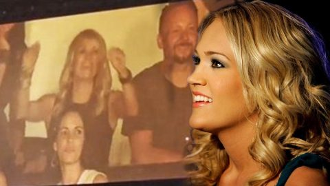 You'll Never Believe Who Carrie Underwood Was Serenaded By | Country Music Videos
