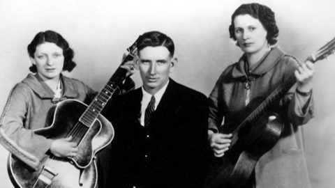 The Carter Family Bleeds Gospel With Vintage Recording Of 'Can The Circle Be Unbroken (By And By)' | Country Music Videos