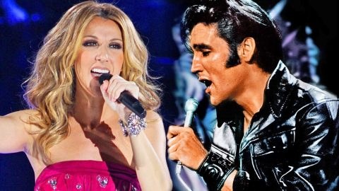 Elvis Presley and Celine Dion's Seemingly Impossible, Inspirational Onstage Performance   Country Music Videos