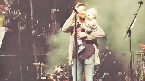 Lady A's Charles Kelley Places Son In Front Of Mic & He Sings His Little Heart Out   Country Music Videos
