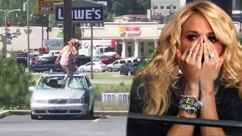 Woman Channels Carrie Underwood & Angrily Destroys Cheating Boyfriend's Ride | Country Music Videos