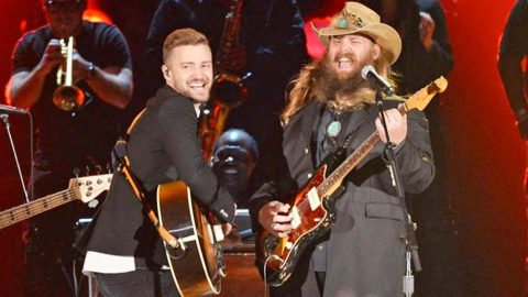 A Look Back On The Moment Justin Timberlake & Chris Stapleton Made History | Country Music Videos