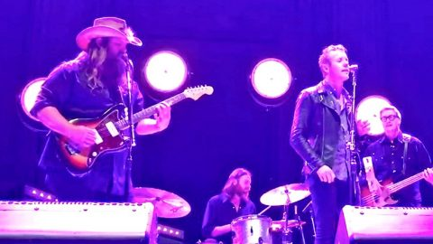 Chris Stapleton & Anderson East Team Up For Crowd-Pleasing Performance Of 'My Girl' | Country Music Videos