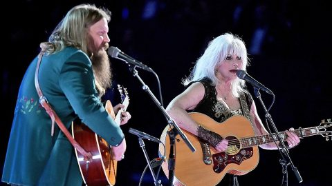 Hear The Sweet Sound Of Chris Stapleton And Emmylou Harris' Grammys Duet | Country Music Videos