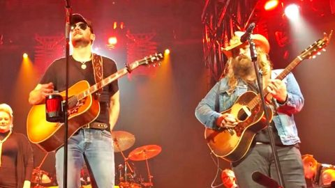 Chris Stapleton & Eric Church Undeniably Rock At Singing One Of The Greatest Songs In History   Country Music Videos
