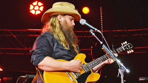 Vegas Victims Honored Through Chris Stapleton's Heart-Tugging Performance Of 'Broken Halos' | Country Music Videos