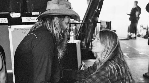 Chris Stapleton Reveals Mid-Concert That His Wife Is Expecting Twins | Country Music Videos