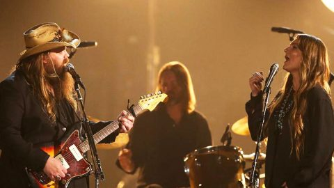 Chris Stapleton And Wife Treat Fans To Killer 'Freebird' Cover | Country Music Videos