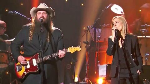 Chris Stapleton & Sheryl Crow Join Forces On Beatles Cover You Should Stop & See Immediately | Country Music Videos