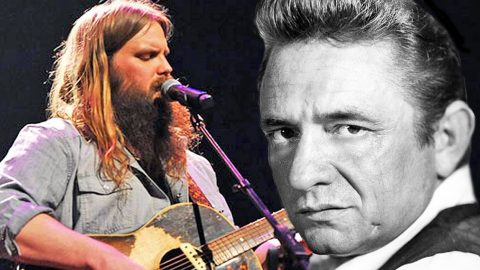 Chris Stapleton Puts Soulful Spin On Johnny Cash's 'Folsom Prison Blues' | Country Music Videos