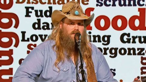 Chris Stapleton Sings Most Cringeworthy Words In Hilarious Skit | Country Music Videos