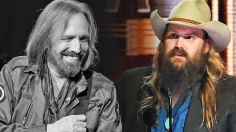 A Heartbroken Chris Stapleton Shares The Final Words Tom Petty Ever Said To Him   Country Music Videos