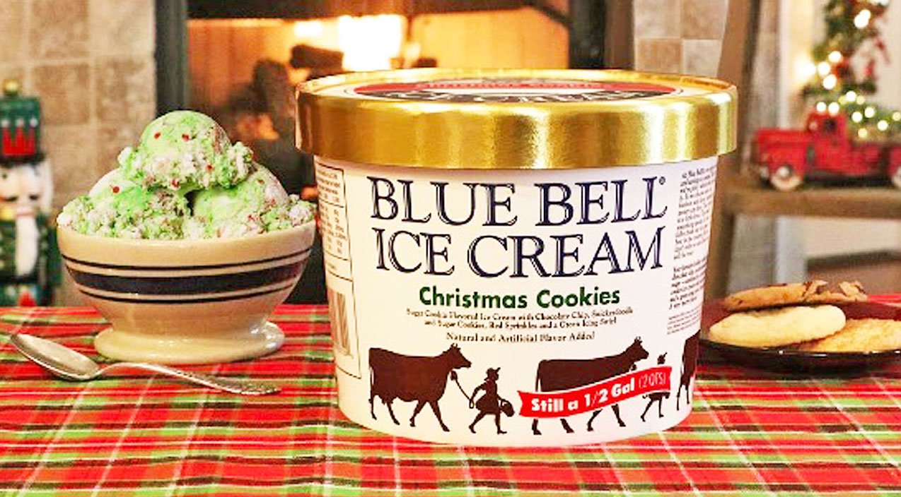 Bluebell Christmas Cookie Ice Cream 2020 Find Out Where You Can Get Your Hands On Blue Bell's Cookie Packed
