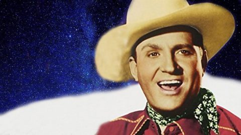 Enjoy The Sweet Sound Of Gene Autry Singing The Cozy Christmas Classic 'Up on the House Top' | Country Music Videos