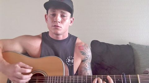 Airman With A Beautiful Voice Charms With George Strait Hit   Country Music Videos