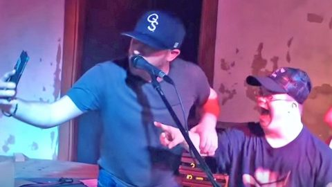 Cole Swindell Stops Mid-Song To Give Lucky Fan A Memory He'll Never Forget | Country Music Videos