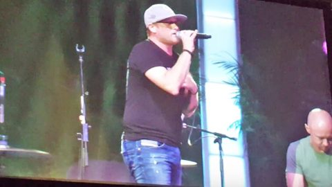 'You Should Be Here': Cole Swindell Dedicates Emotional Performance To Orlando Victims | Country Music Videos