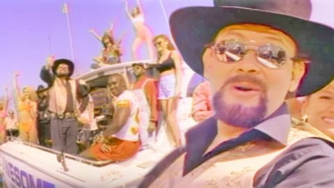 Hank jr invites non country fans to come on over to the country hank jr invites non country fans to come on over to the country in rowdy music video stopboris Gallery