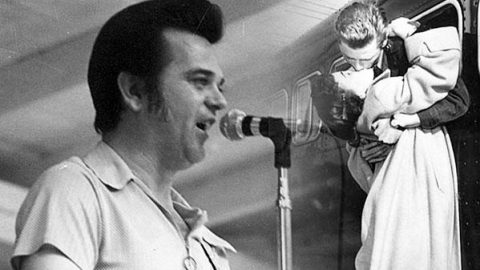 """Conway Twitty Covers Paul Anka's Song """"Diana""""   Country Music Videos"""