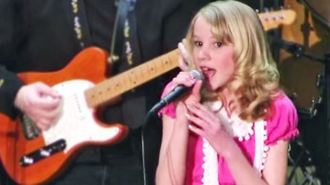 12-Year-Old Country Cutie Shines With Loretta Lynn's 'You Aint Women Enough' | Country Music Videos