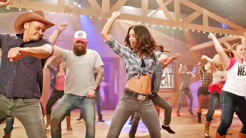 Prepare To Turn Up The 'Country Heat' With  New Line Dancing Workout Program | Country Music Videos
