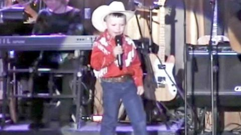 6-Year-Old Cowboy Steals Hearts With Impressive 'Your Cheatin' Heart' | Country Music Videos