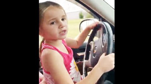 Country Singer Teaches 6-Year-Old How To Drive In Adorable Video | Country Music Videos