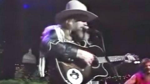 Flashback To David Allan Coe's Rare Performance Of 'You Never Even Called Me By My Name' | Country Music Videos