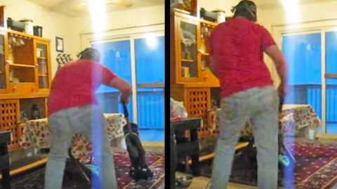 Man Was Caught Dancing To Favorite Country Song While Vacuuming, And It's Hysterical | Country Music Videos